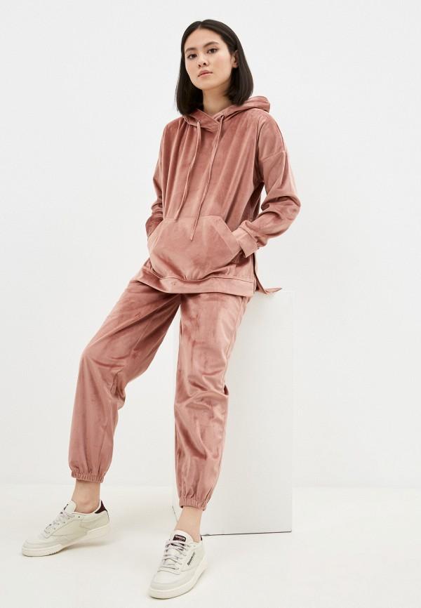 женский спортивный костюм hey look, розовый