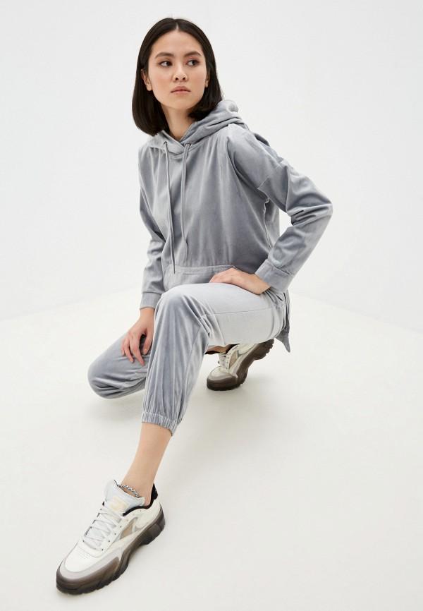 женский спортивный костюм hey look, серый