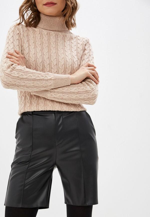 женские повседневные шорты hey look, черные