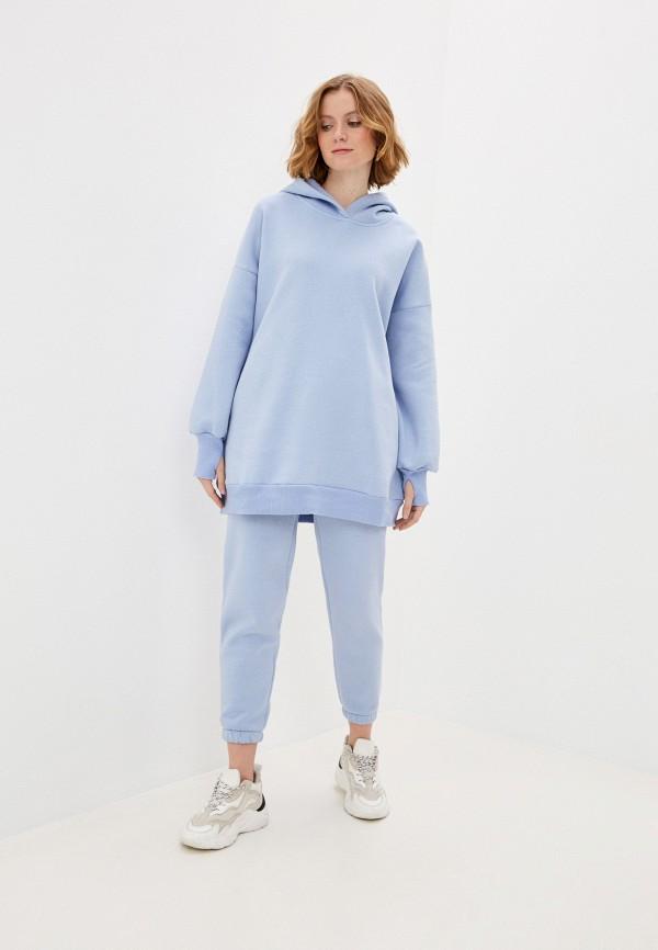 женский спортивный костюм hey look, голубой
