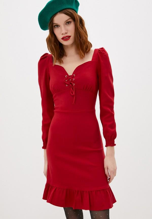 женское вечерние платье hey look, красное