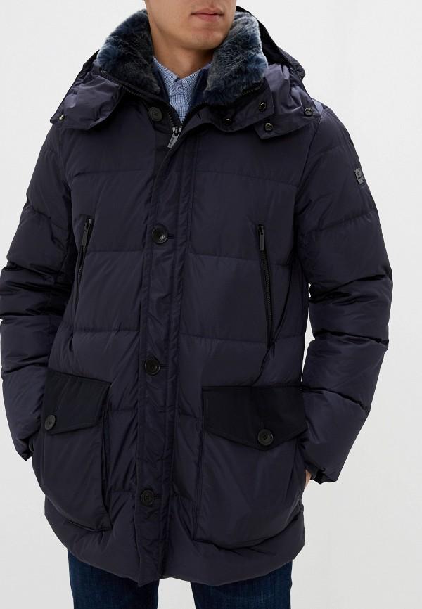 мужская куртка hetrego, синяя