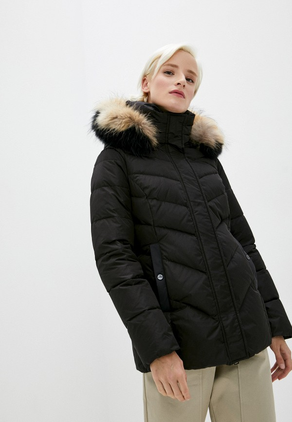 женская куртка hetrego, черная