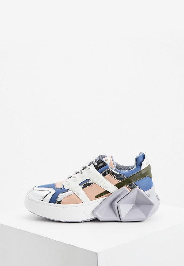 женские кроссовки hide & jack, разноцветные