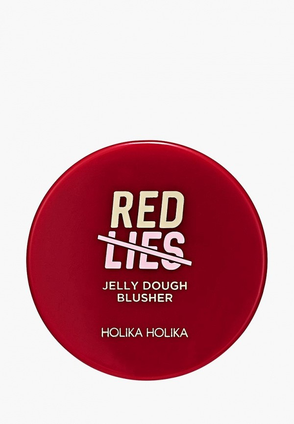 румяна holika holika, красная