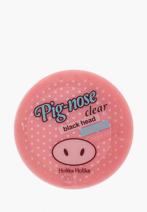 Скраб для лица Holika Holika очищающий сахарный  Pignose