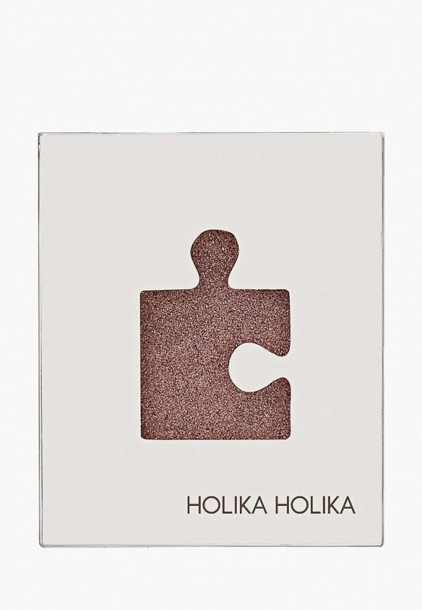 тени для век holika holika, коричневый