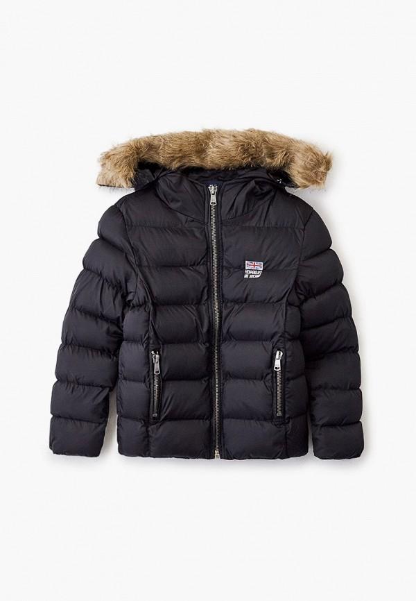 куртка hopenlife для мальчика, черная