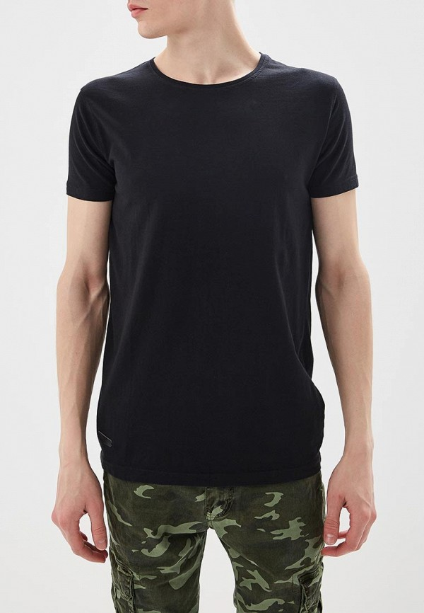 Купить мужскую футболку Hopenlife черного цвета