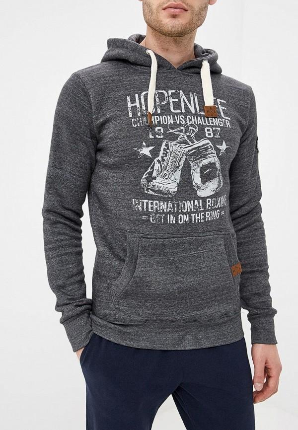 Купить Худи Hopenlife, ho012emcmot4, серый, Осень-зима 2018/2019
