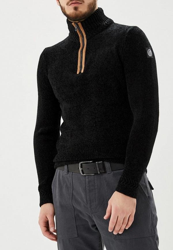 Фото - мужской свитер Hopenlife черного цвета