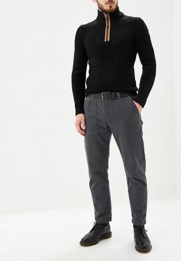 Фото 2 - мужской свитер Hopenlife черного цвета