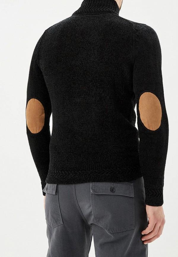 Фото 3 - мужской свитер Hopenlife черного цвета