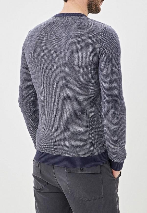 Фото 3 - мужской пуловер Hopenlife синего цвета