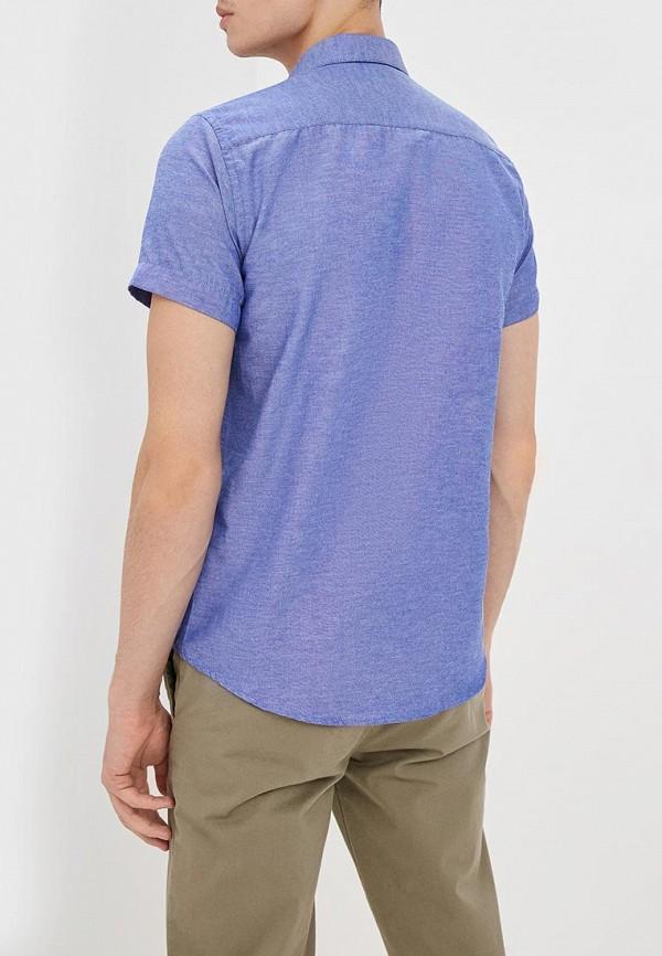 Фото 3 - мужскую рубашку Hopenlife синего цвета