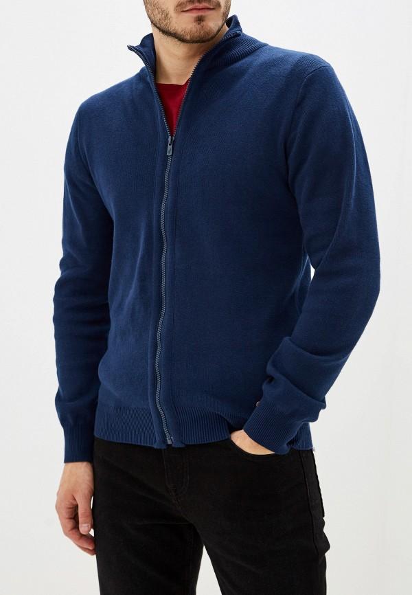 мужской кардиган hopenlife, синий