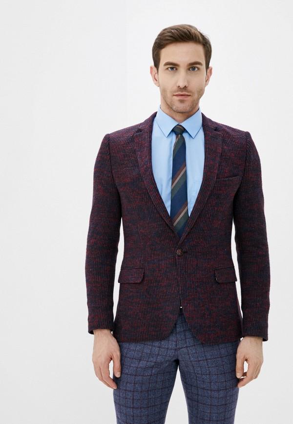 мужской пиджак hopenlife, бордовый