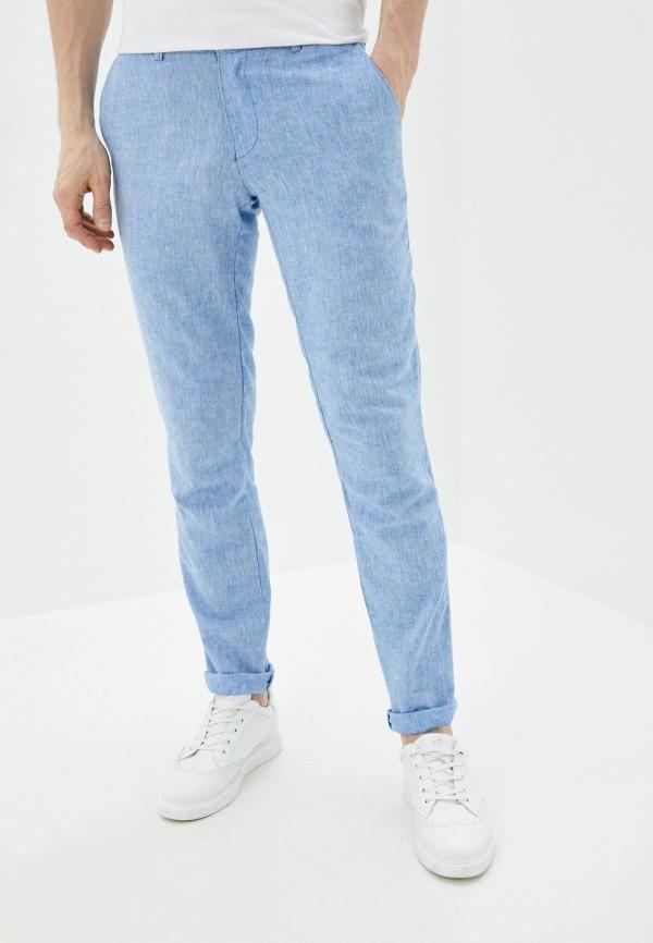 мужские зауженные брюки hopenlife, голубые