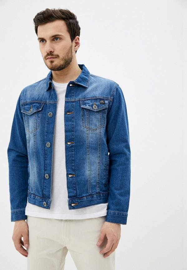 мужская джинсовые куртка hopenlife, синяя