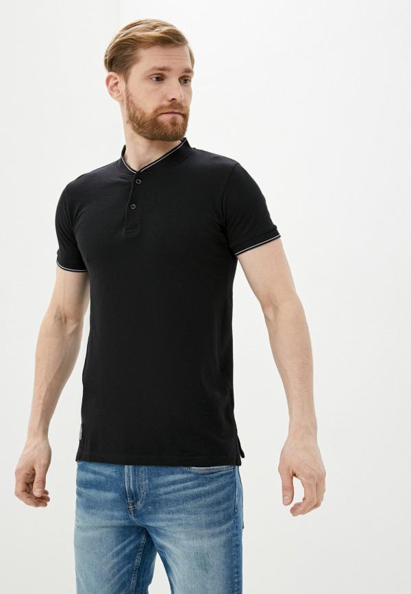 мужская футболка с коротким рукавом hopenlife, черная