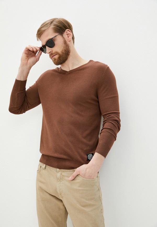 мужской пуловер hopenlife, коричневый