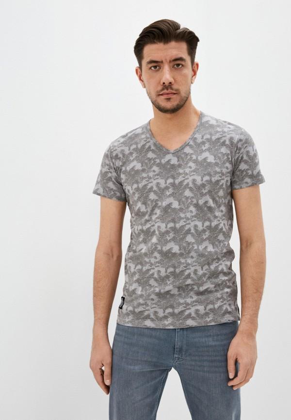 мужская футболка с коротким рукавом hopenlife, серая