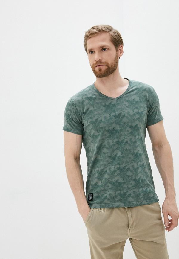 мужская футболка с коротким рукавом hopenlife, зеленая