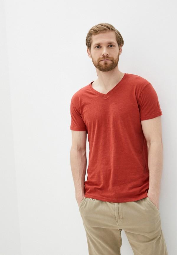 мужская футболка с коротким рукавом hopenlife, красная