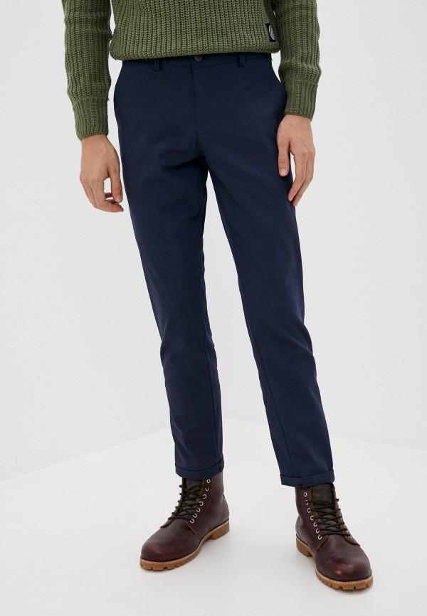 мужские зауженные брюки hopenlife, синие