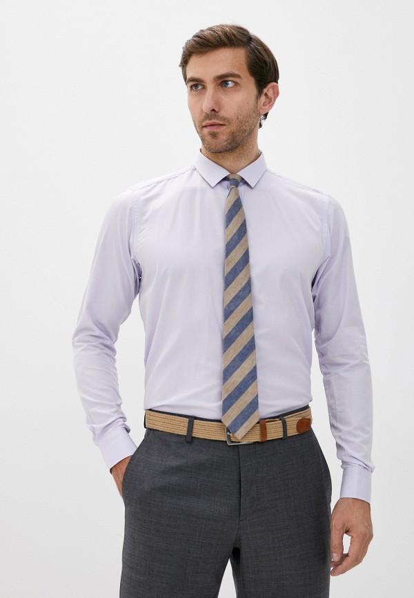 мужская рубашка с длинным рукавом hopenlife, фиолетовая