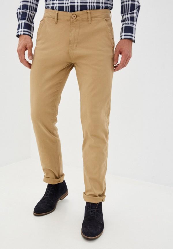 мужские брюки чинос hopenlife, бежевые
