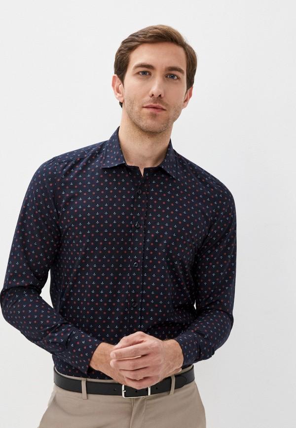 мужская рубашка с длинным рукавом hopenlife, черная