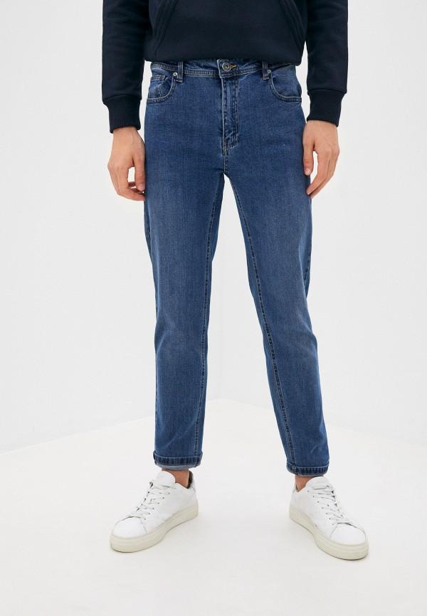 мужские зауженные джинсы hopenlife, голубые