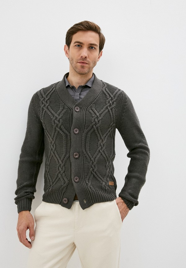 мужской кардиган hopenlife, серый