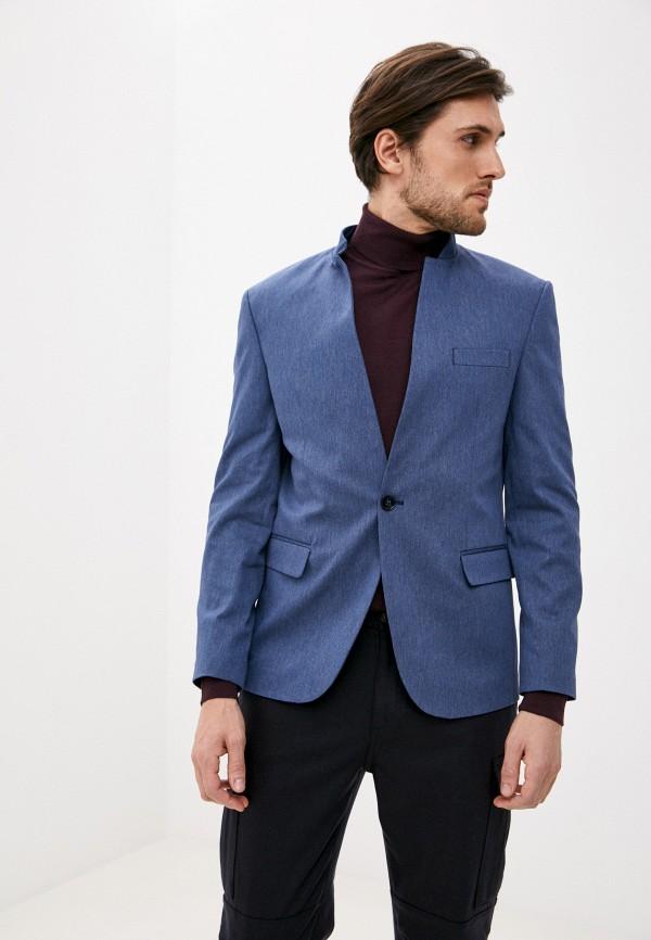 мужской пиджак hopenlife, голубой