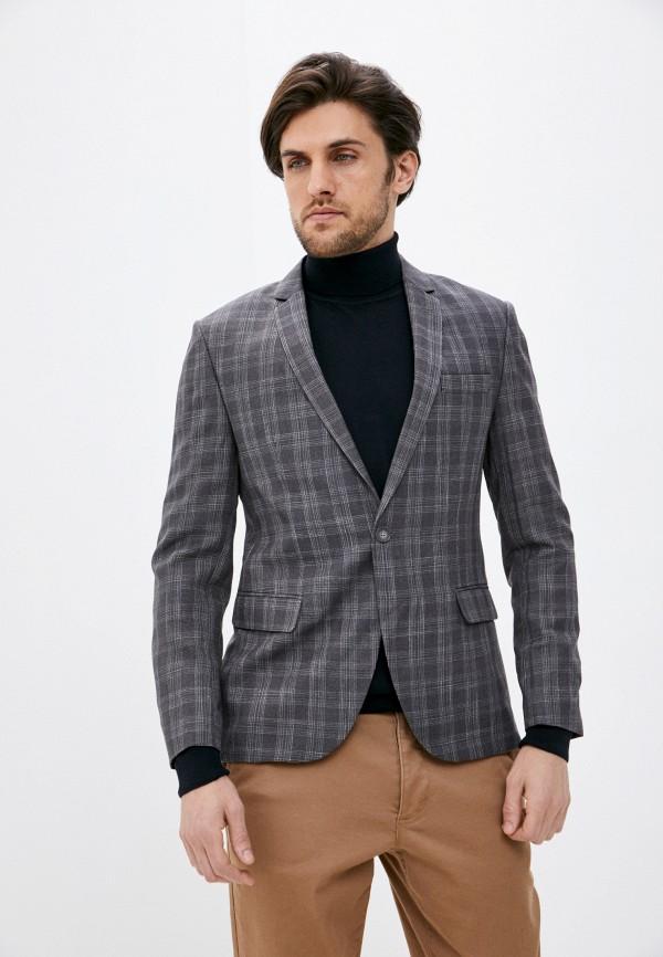 мужской пиджак hopenlife, серый