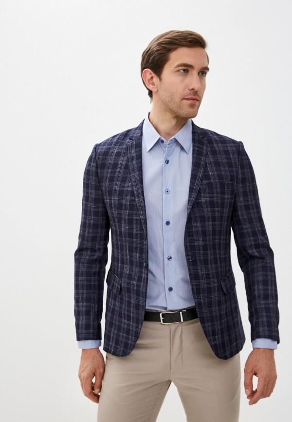 мужской пиджак hopenlife, синий