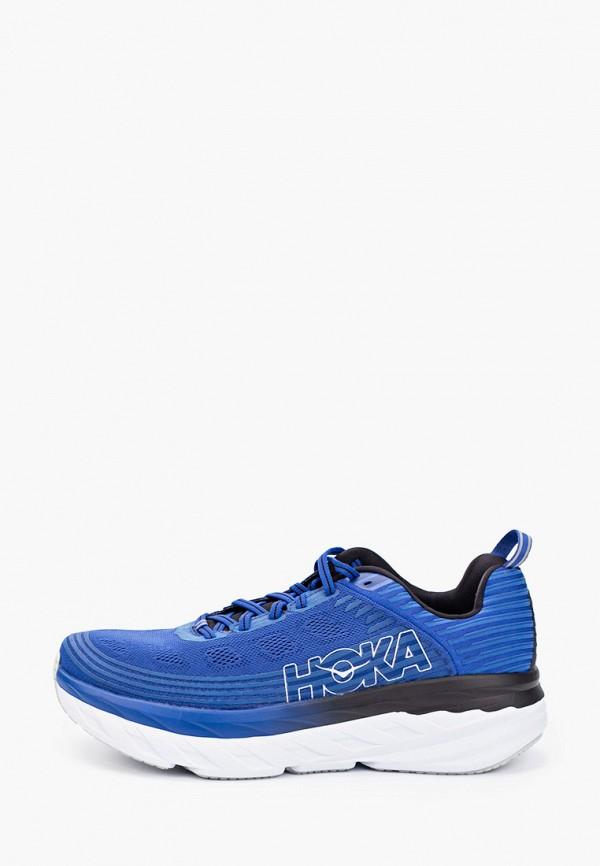 мужские кроссовки hoka one one, синие