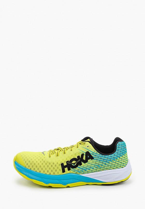 мужские низкие кроссовки hoka one one, желтые