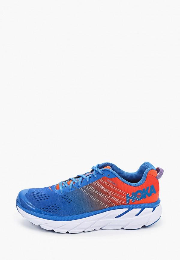 мужские низкие кроссовки hoka one one, синие