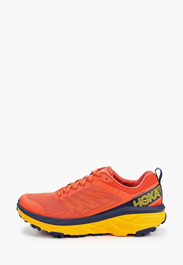 мужские низкие кроссовки hoka one one, оранжевые