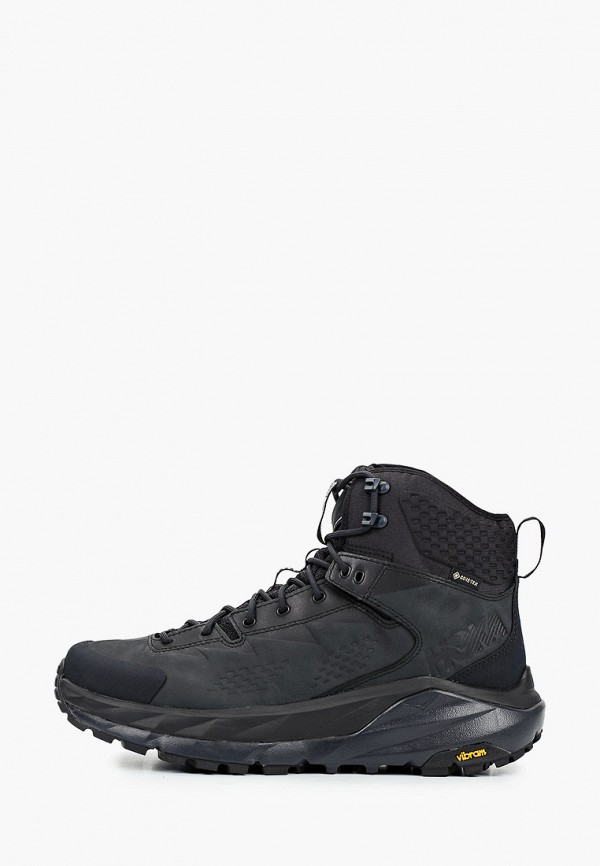 мужские ботинки hoka one one, черные