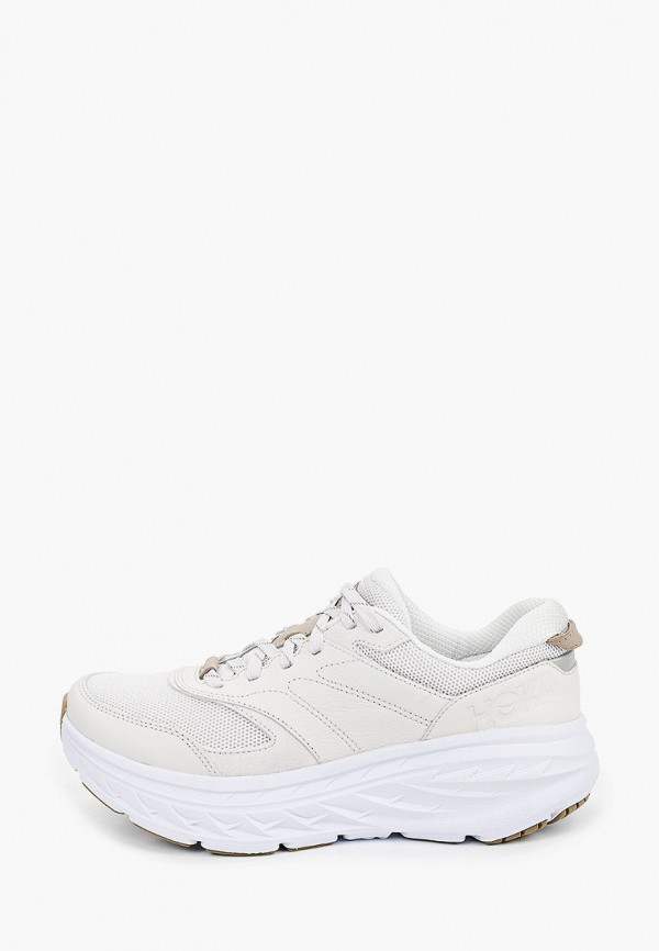мужские кроссовки hoka one one, белые