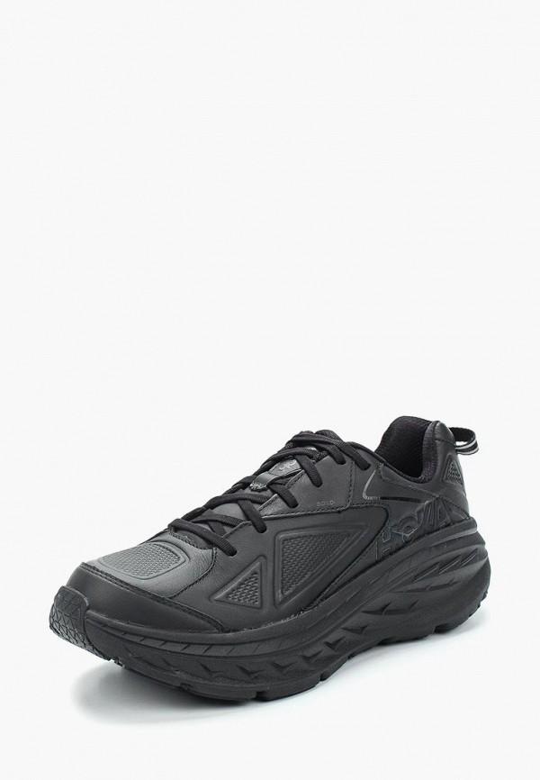 мужские кроссовки hoka one one, черные