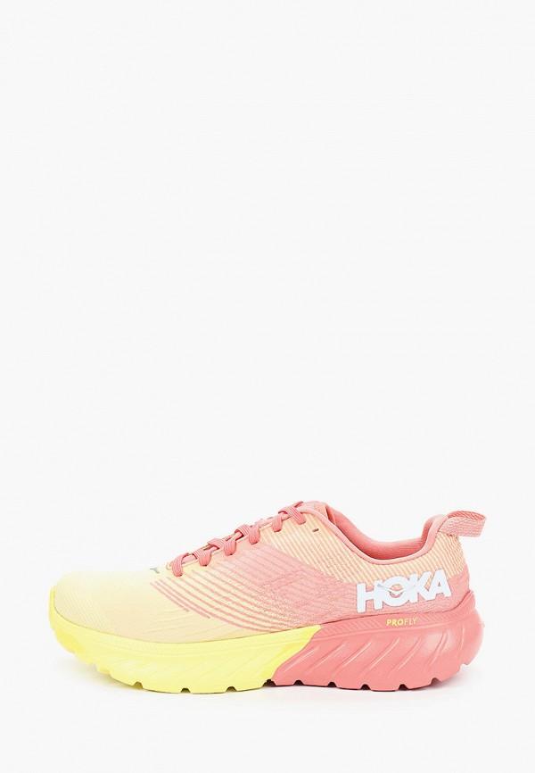 женские кроссовки hoka one one, разноцветные