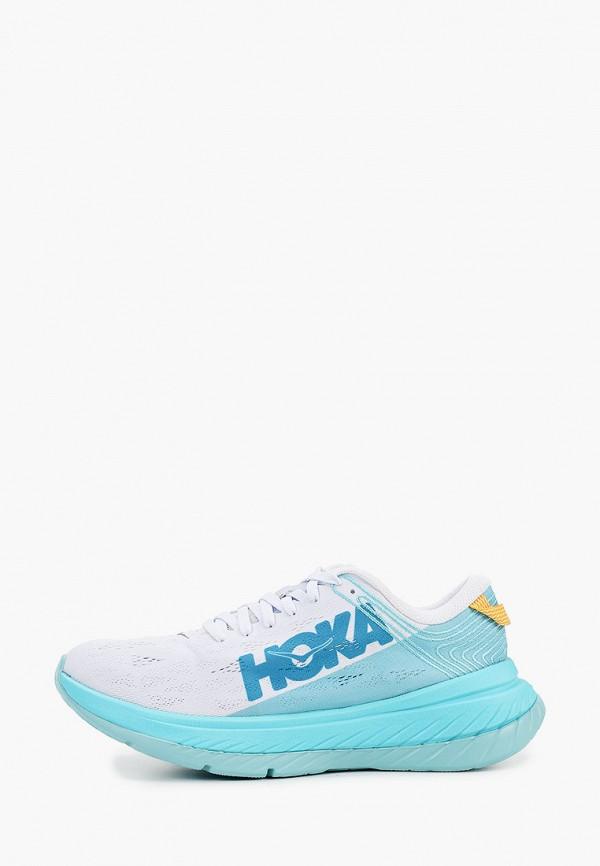 женские кроссовки hoka one one, голубые