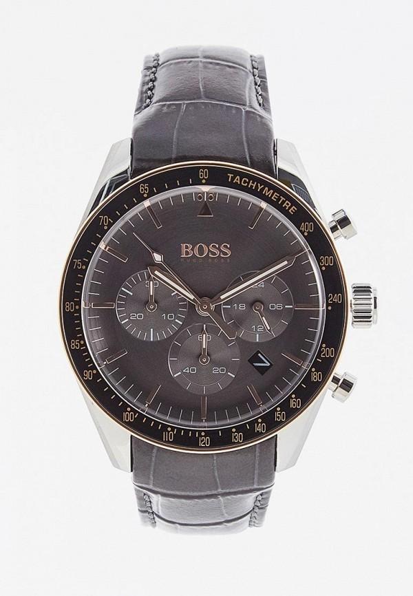мужские часы boss, серые