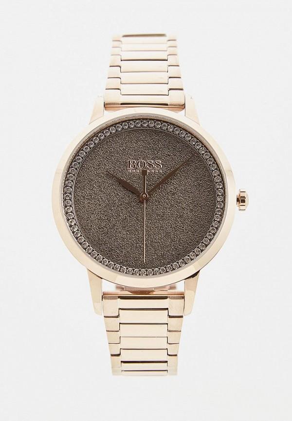 женские часы hugo boss, серебряные