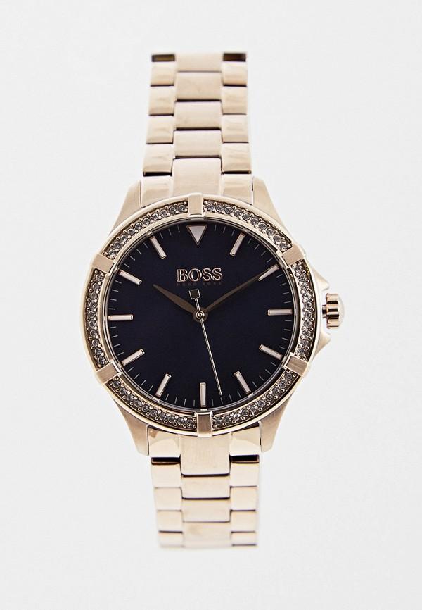 женские часы hugo boss, золотые