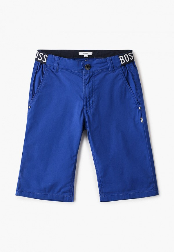 шорты boss для мальчика, синие